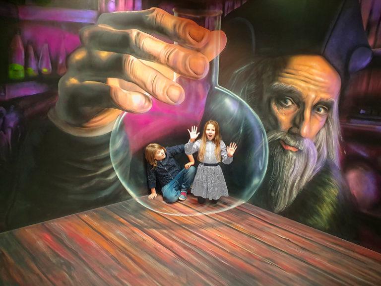 Muzeum fantastických iluzí - uvězněni v baňce Ticho de Brahe