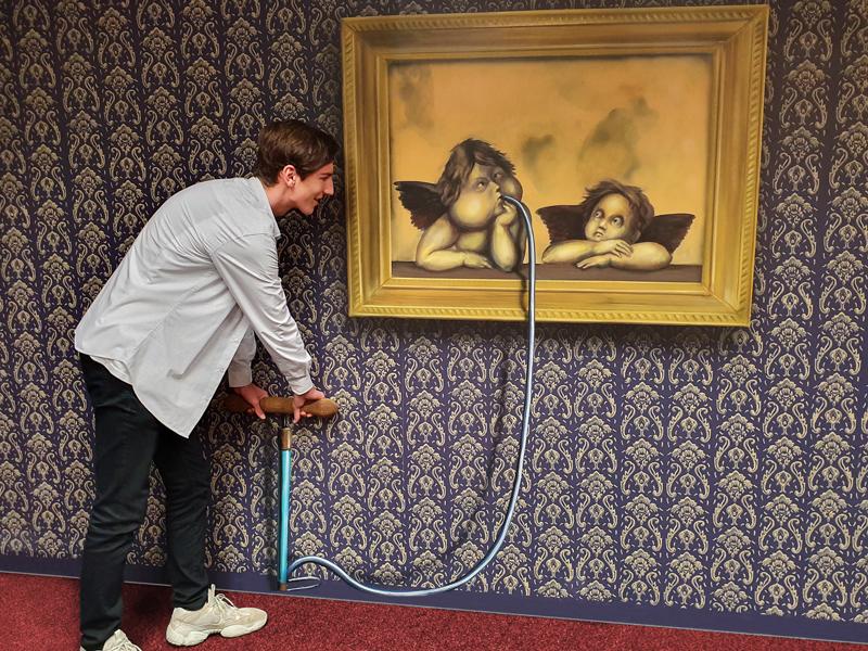 Muzeum fantastických iluzí - dofoukni si andílka