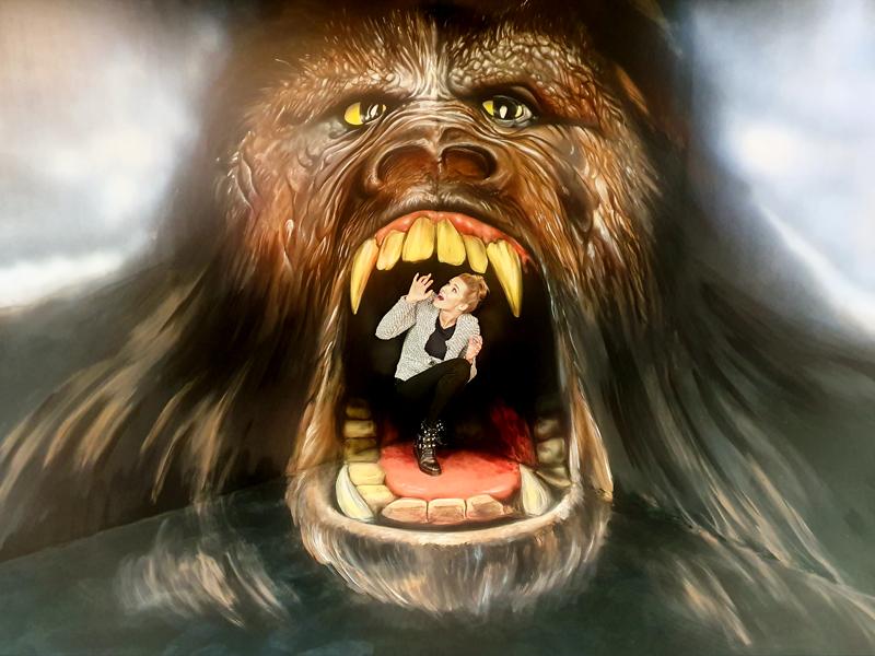 Muzeum fantastických iluzí - Pozor na King Konga