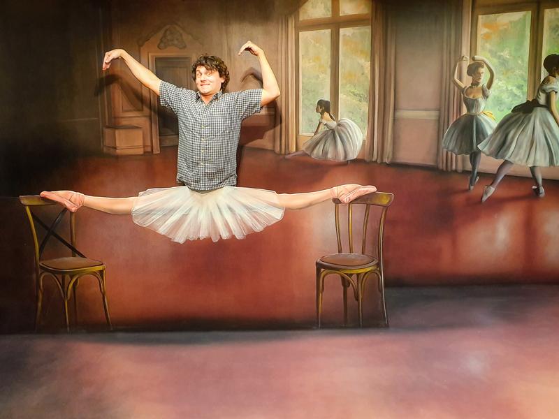 Muzeum fantastických iluzí - staňte se primabalerínou