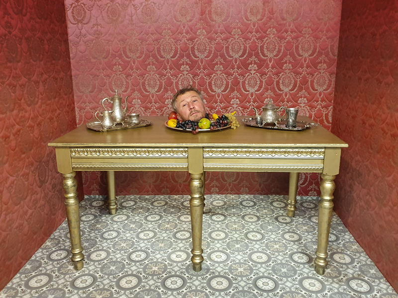 Muzeum fantastických iluzí - je libo hlavu na tácu?