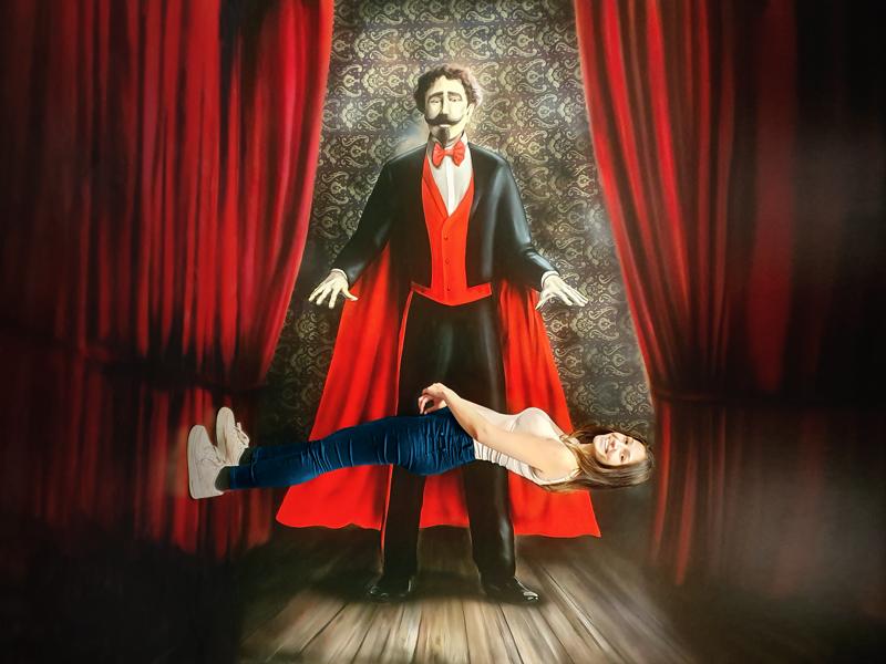 Muzeum fantastických iluzí - levitace
