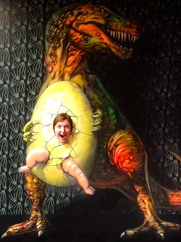 Muzeum fantastických iluzí - pozor na dinosaury